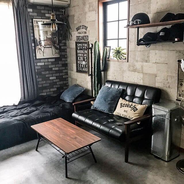 ブルックリンスタイル部屋の作り方